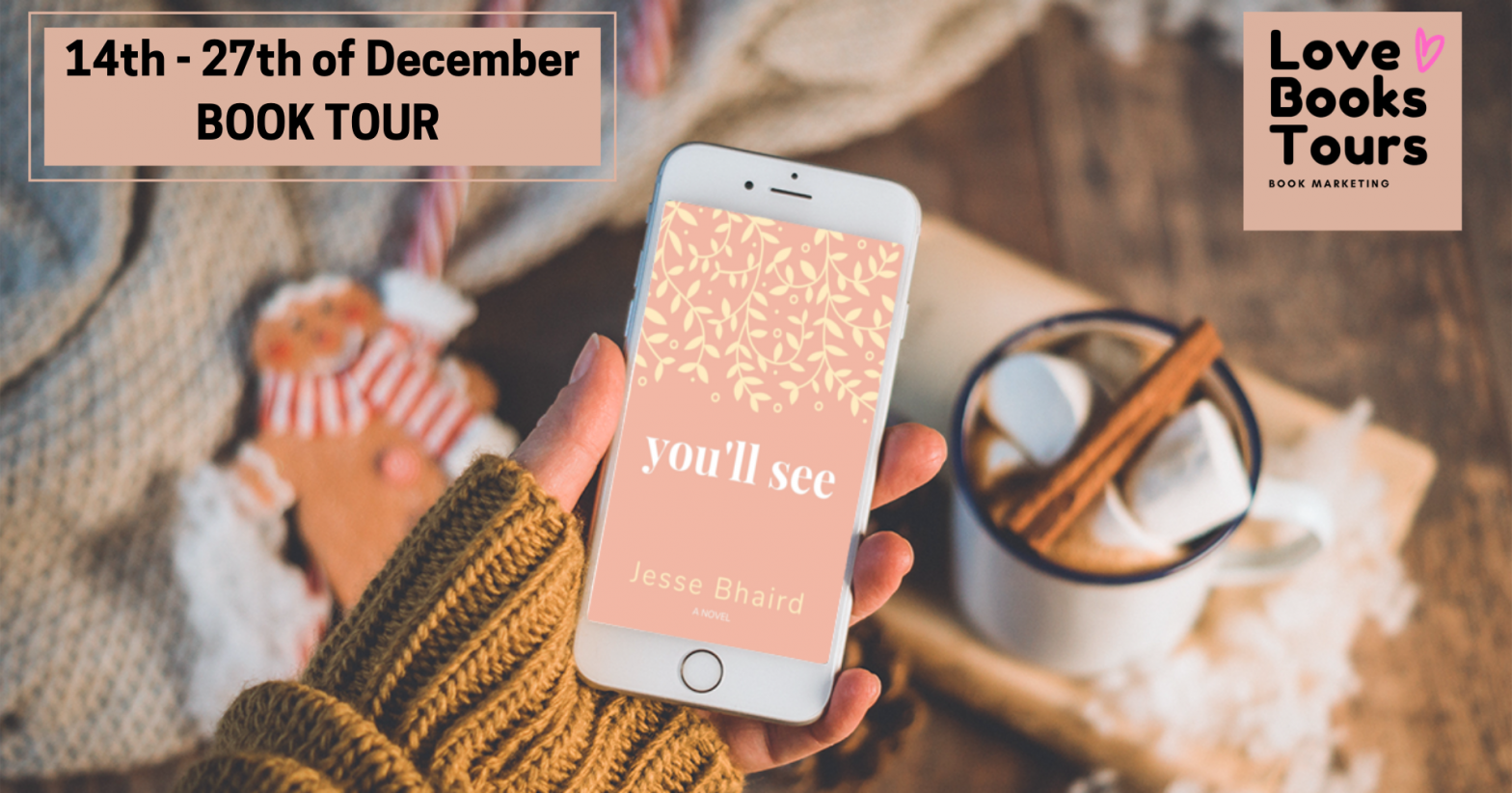 You'll See by Jesse Bhaird – Book tour review