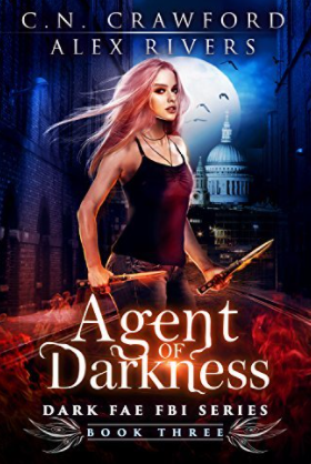 Cover - Agent of Darkness by CN Crawford and Alex Rivers